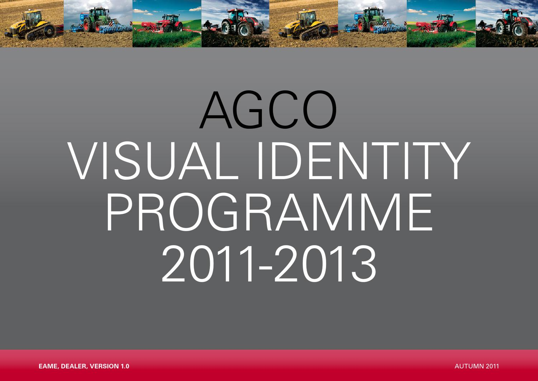 AGCO Brand Guidelines by Chandlers (Farm Equipment) Ltd - issuu
