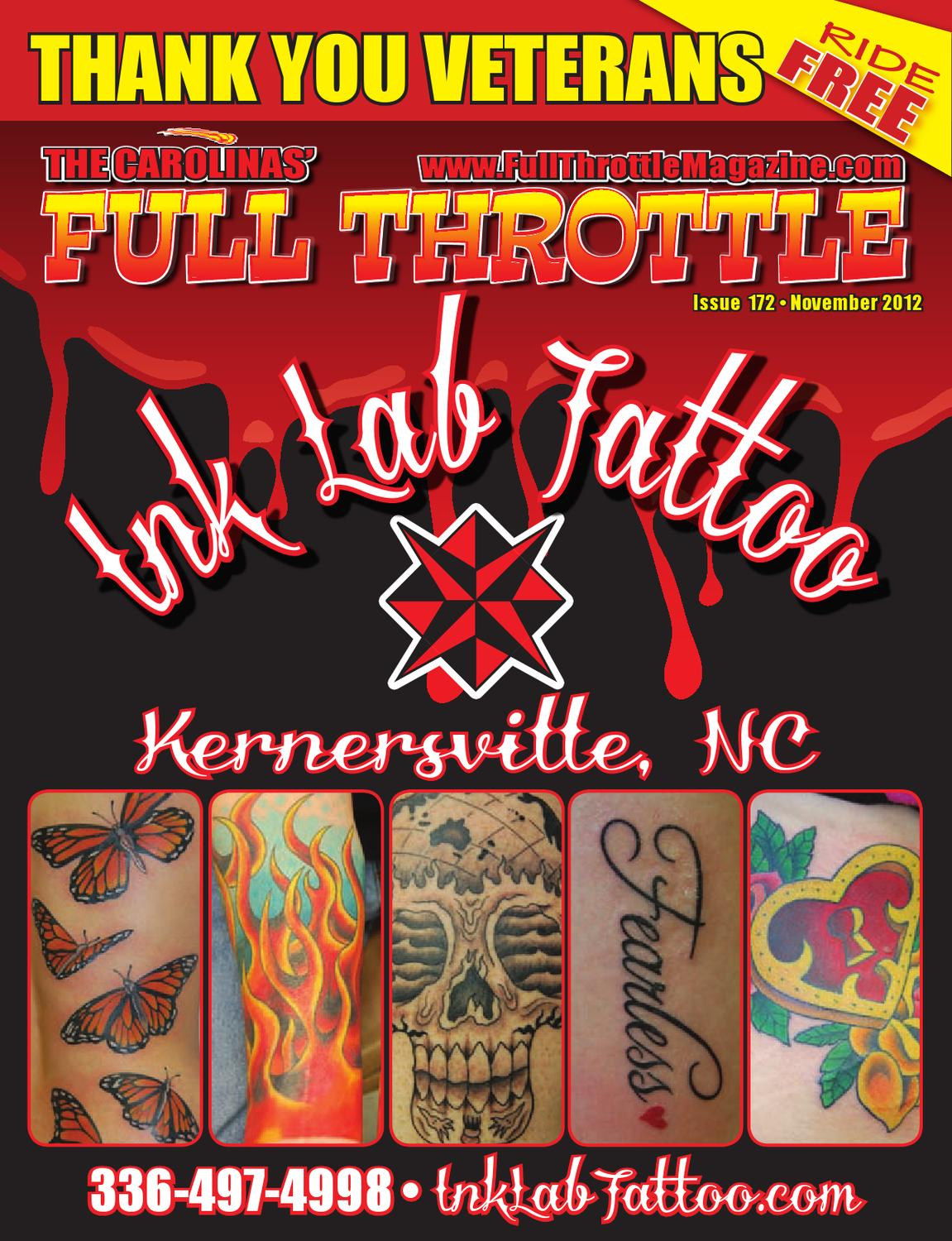 November 2012 issue 172 by the carolinas 39 full throttle - Cruisin carolina magazine ...