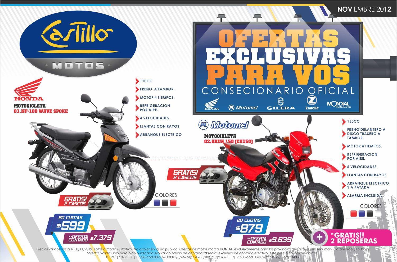 castillo venta de motos