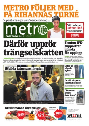 hot sale online 3ecbb 3d9d4 20121031 se goteborg by Metro Sweden - issuu