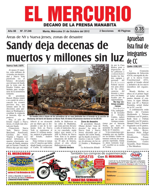 31octubre2012 by Diario El mercurio - issuu