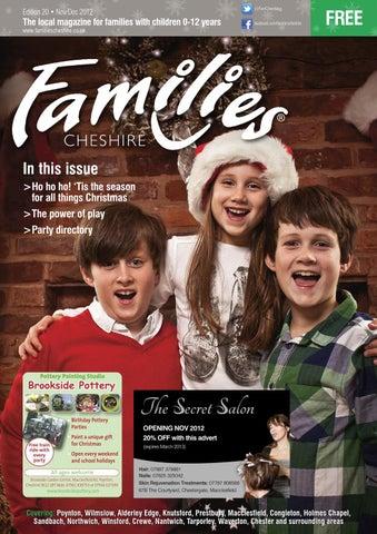 8c45e88e Families Cheshire Issue 20 Nov-Dec 2012 by Families Magazine - issuu