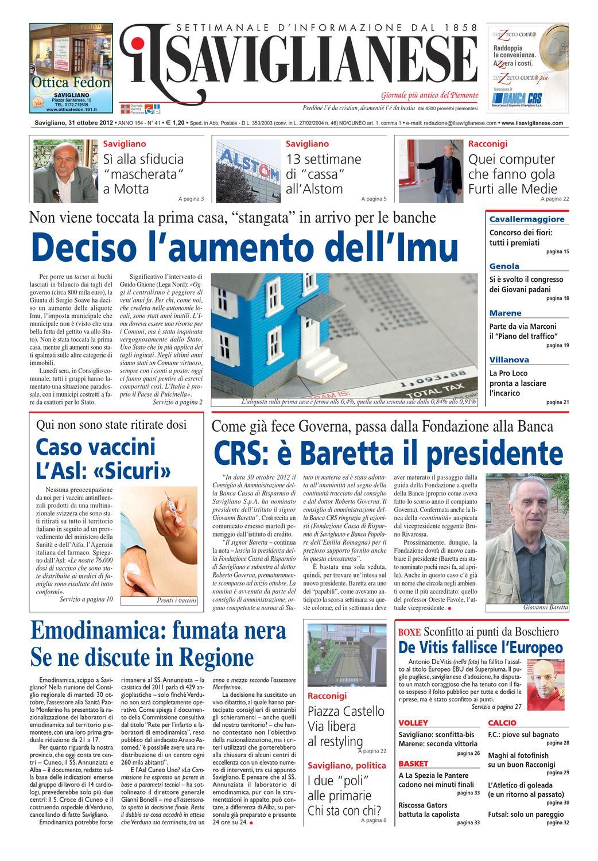 31-10-2012 by Valerio Maccagno - issuu 70ac52b4b234