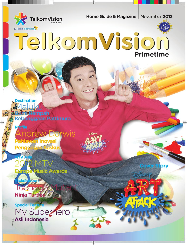 November 2012 Prime Time Telkomvision By Indonusa Telemedia Issuu Extri Jam Tangan Pria X3013e Hitam