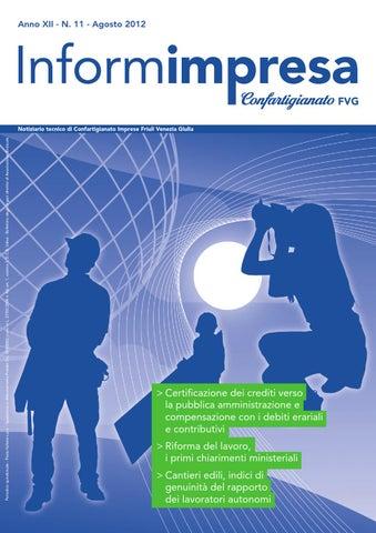 InformImpresa n. 11 - 2012 by Confartigianato-Imprese Udine - issuu 7ef000e047d7