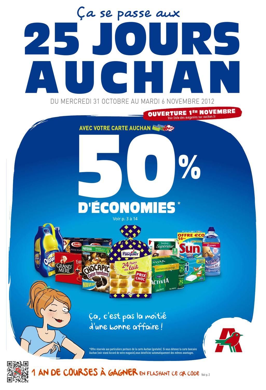 Auchan catalogue 31 octobre 6 novembre 2012 by - Carte de fidelite auchan fr ...