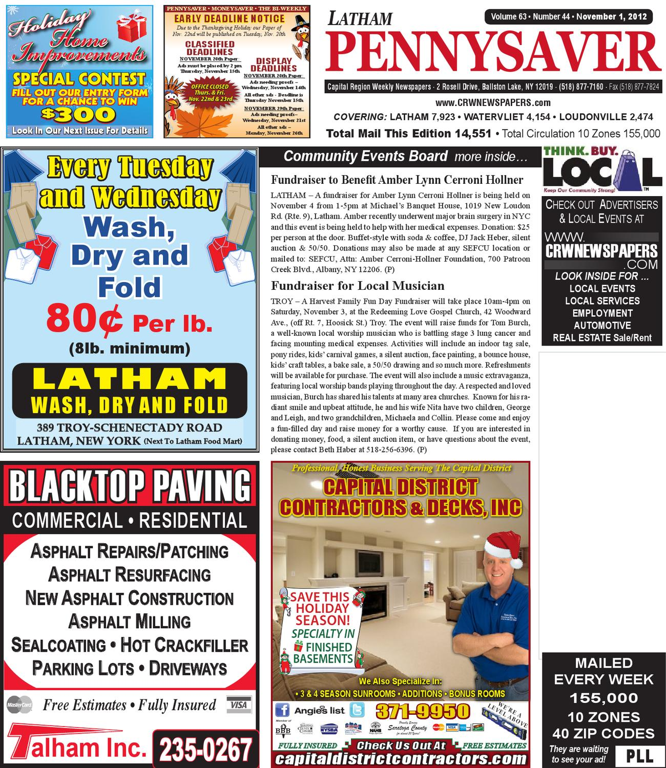 latham pennysaver by capital region weekly newspapers issuu