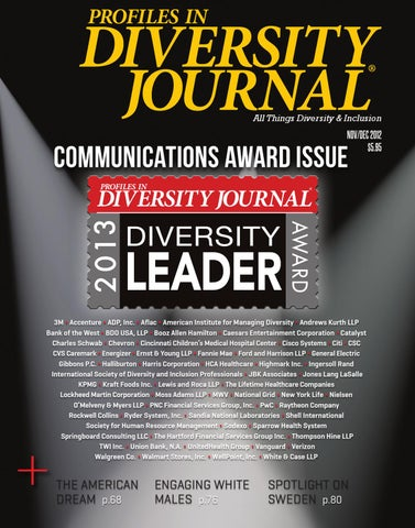 Diversity Journal - Nov/Dec 2012 by Diversity Journal - issuu