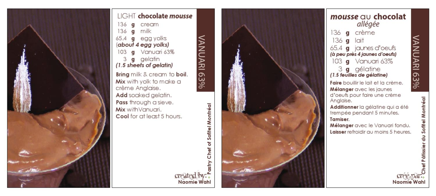 November Passion For Food Vanuari Chocolate Mousse By Qualifirst