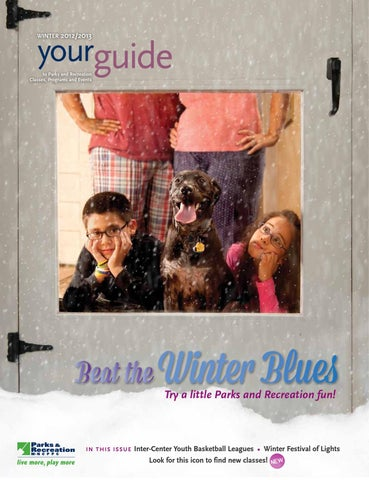 Winter Guide 2013 by M-NCPPC, Department of Parks