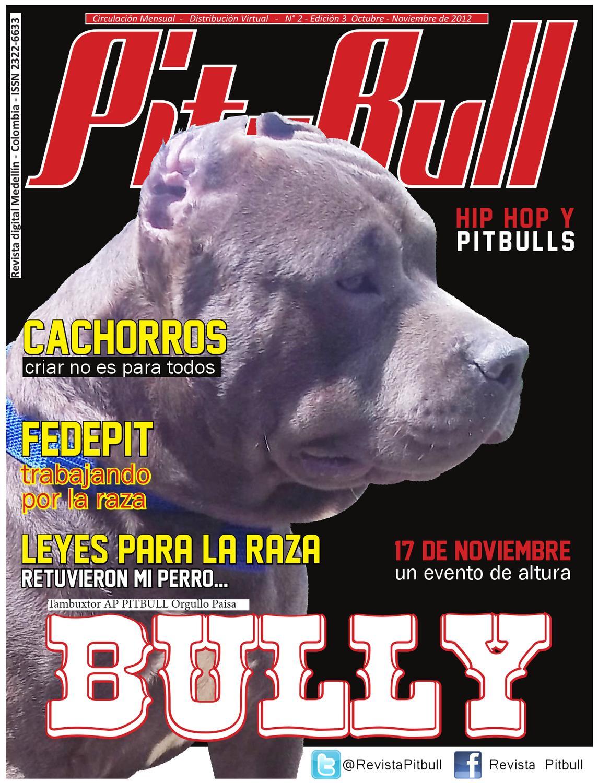 REVISTA PITBULL MAGAZINE_ edición Nº 2 by Revista PitBull Colombia ...