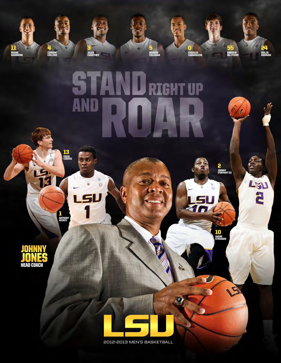 2012 13 LSU Mens Basketball Media Guide By Athletics