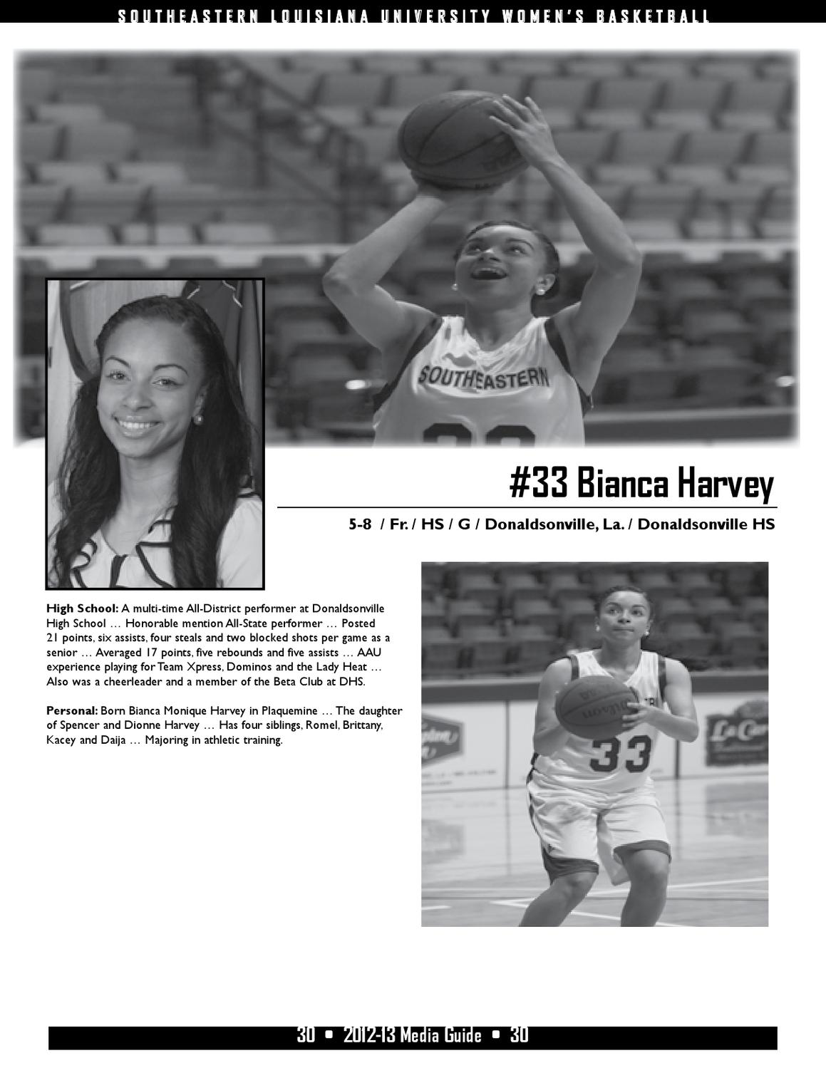 2012 13 Southeastern Womens Basketball Media Guide By Southeastern