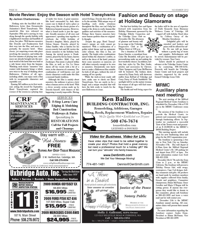 The New Uxbridge Times by The New Uxbridge Times - issuu