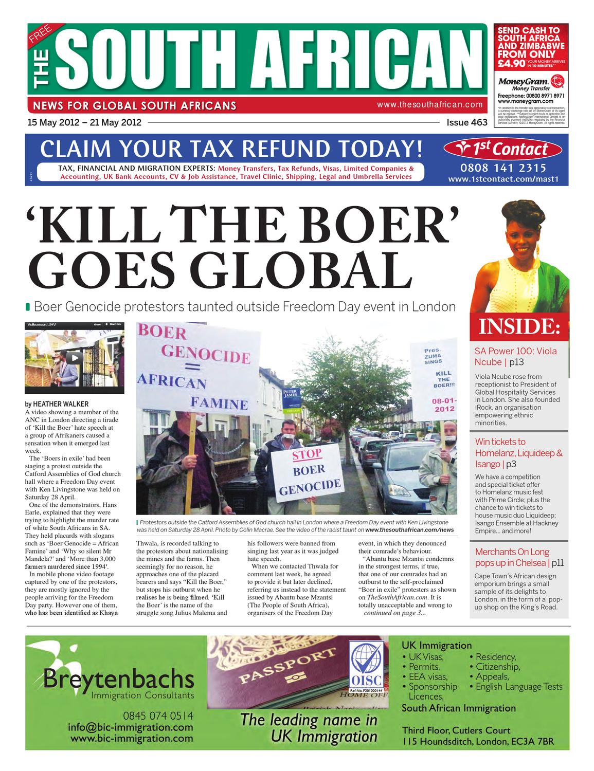 The South African Issue 463 15 May 2012 By The South
