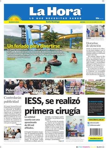 Edición impresa Santo Domingo del 1 de noviembre de 2012 by Diario ... c8a61fba7f7