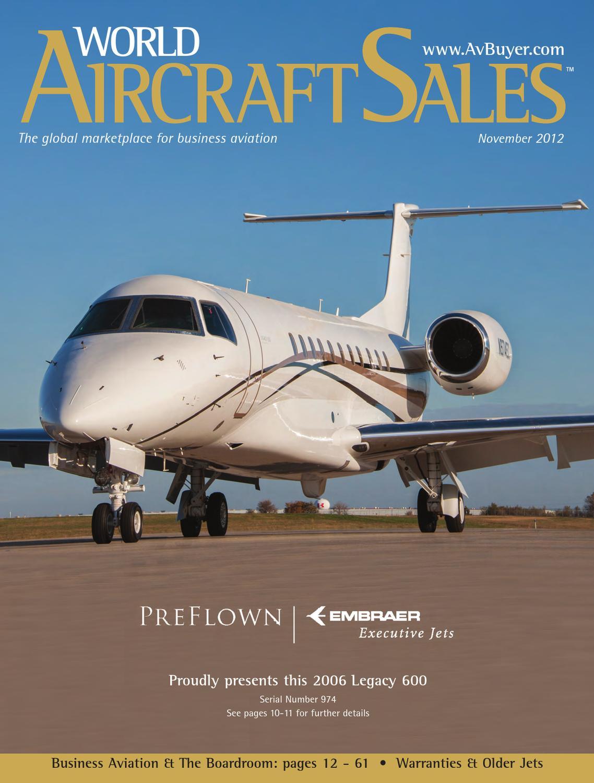 World Aircraft Sales Magazine November 12 by