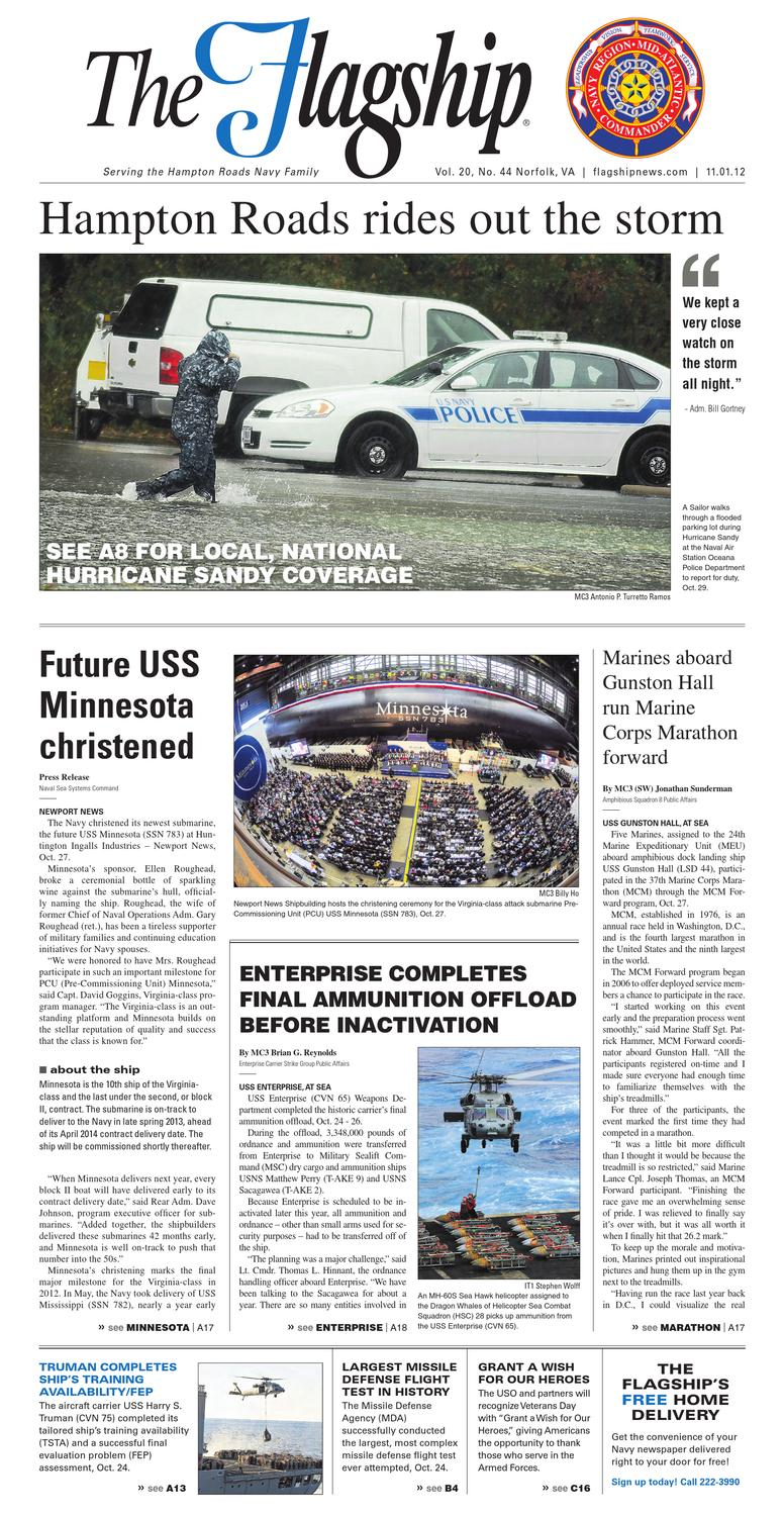 Flagship November 1 2012 By Military News Issuu Lets Talk Dual Battery Isolators Toyota Fj Cruiser Forum