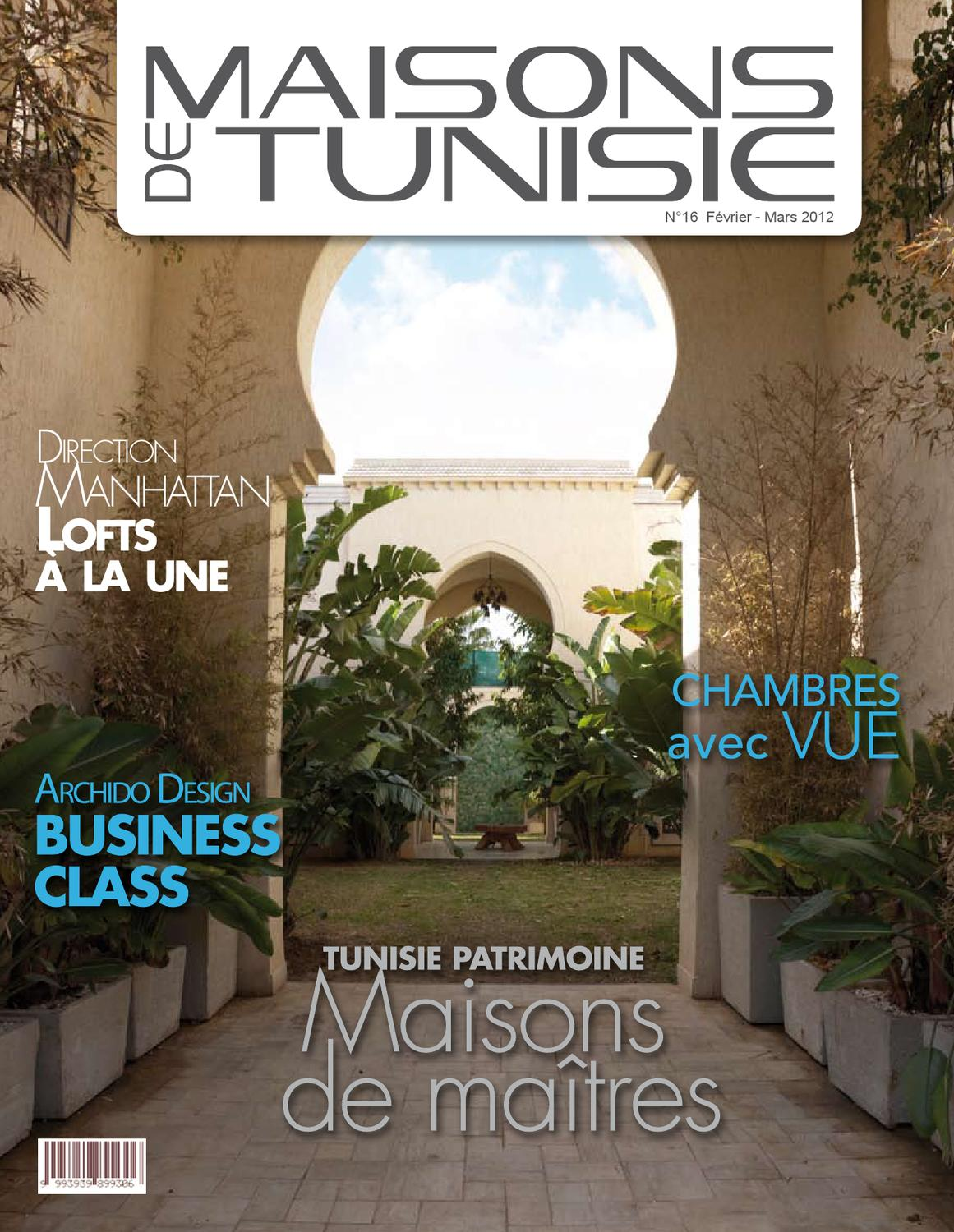 Maisons De Tunisie N 176 16 By Abilly Issuu