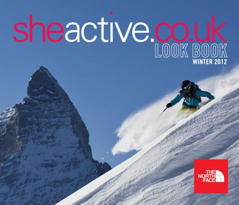sheactive Look Book - The North Face, Winter 2012