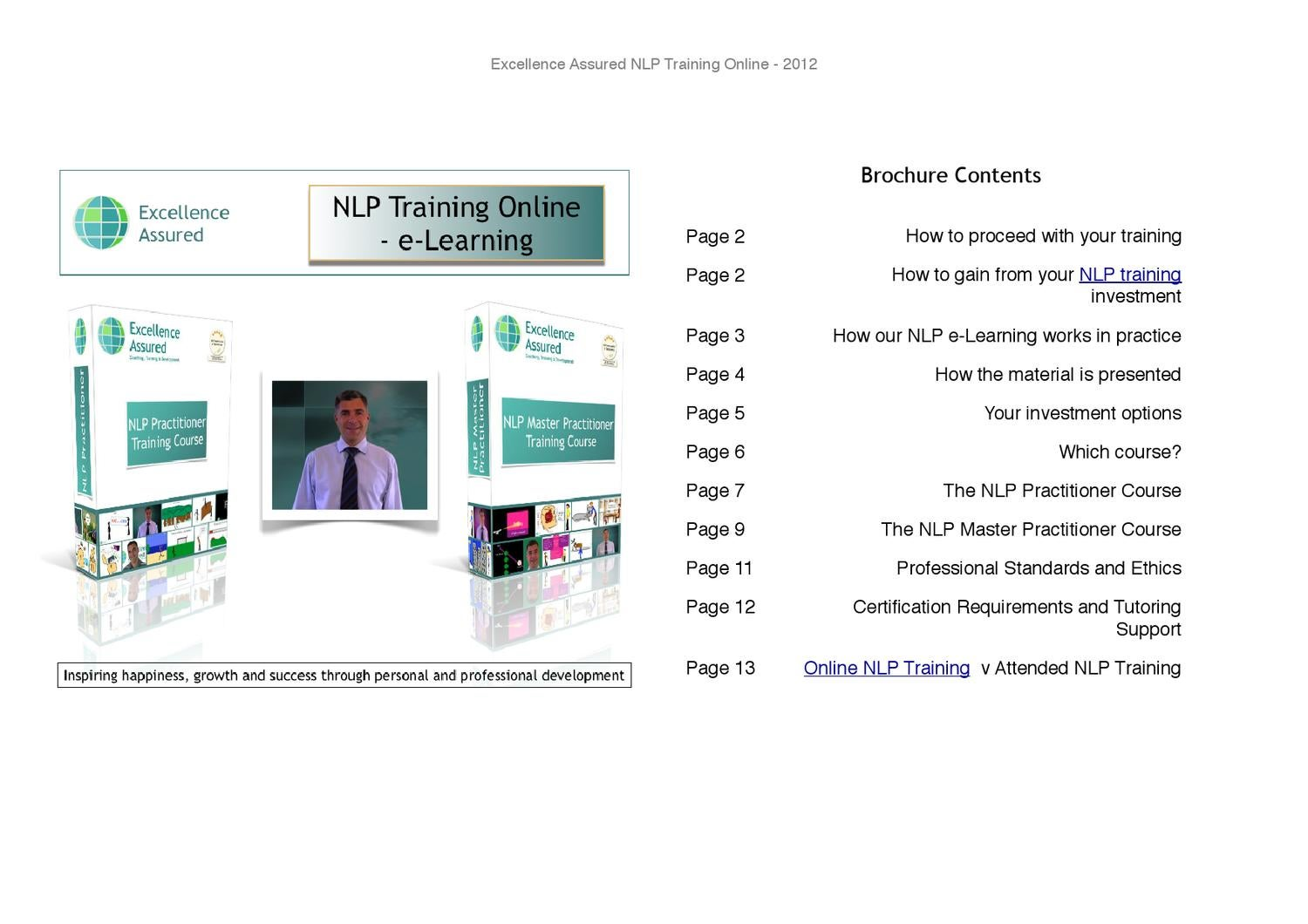 Nlp Certification Online Training Courses By Anthony Beardsell Issuu