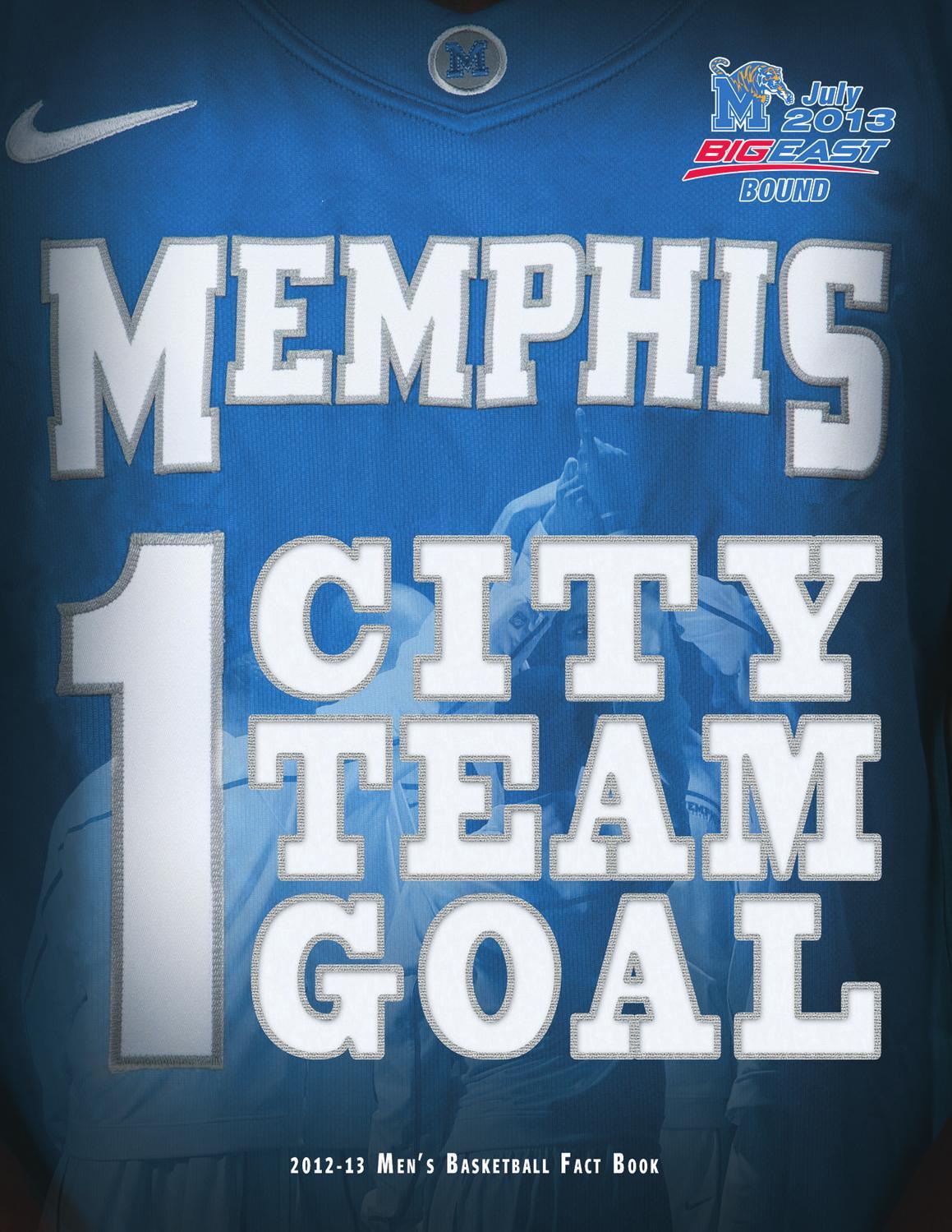 2012-13 Memphis Men\'s Basketball Fact Book by University of Memphis ...