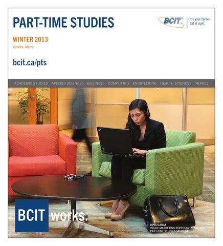 Bcit Part Time Studies Winter 2013 By Bcit Issuu