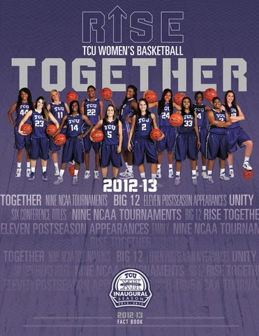 0d69839c2 2012-13 TCU Women s Basketball Fact Book by TCU Athletics - issuu