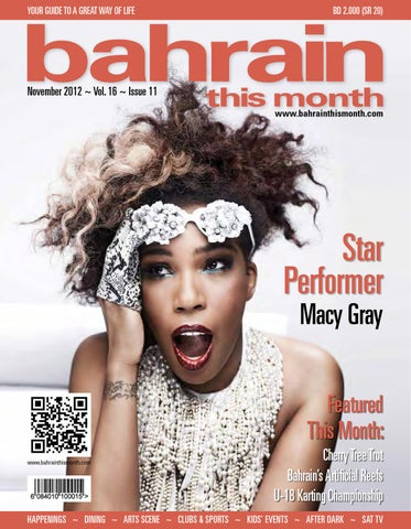 Bahrain This Month - November 2012 by Red House Marketing