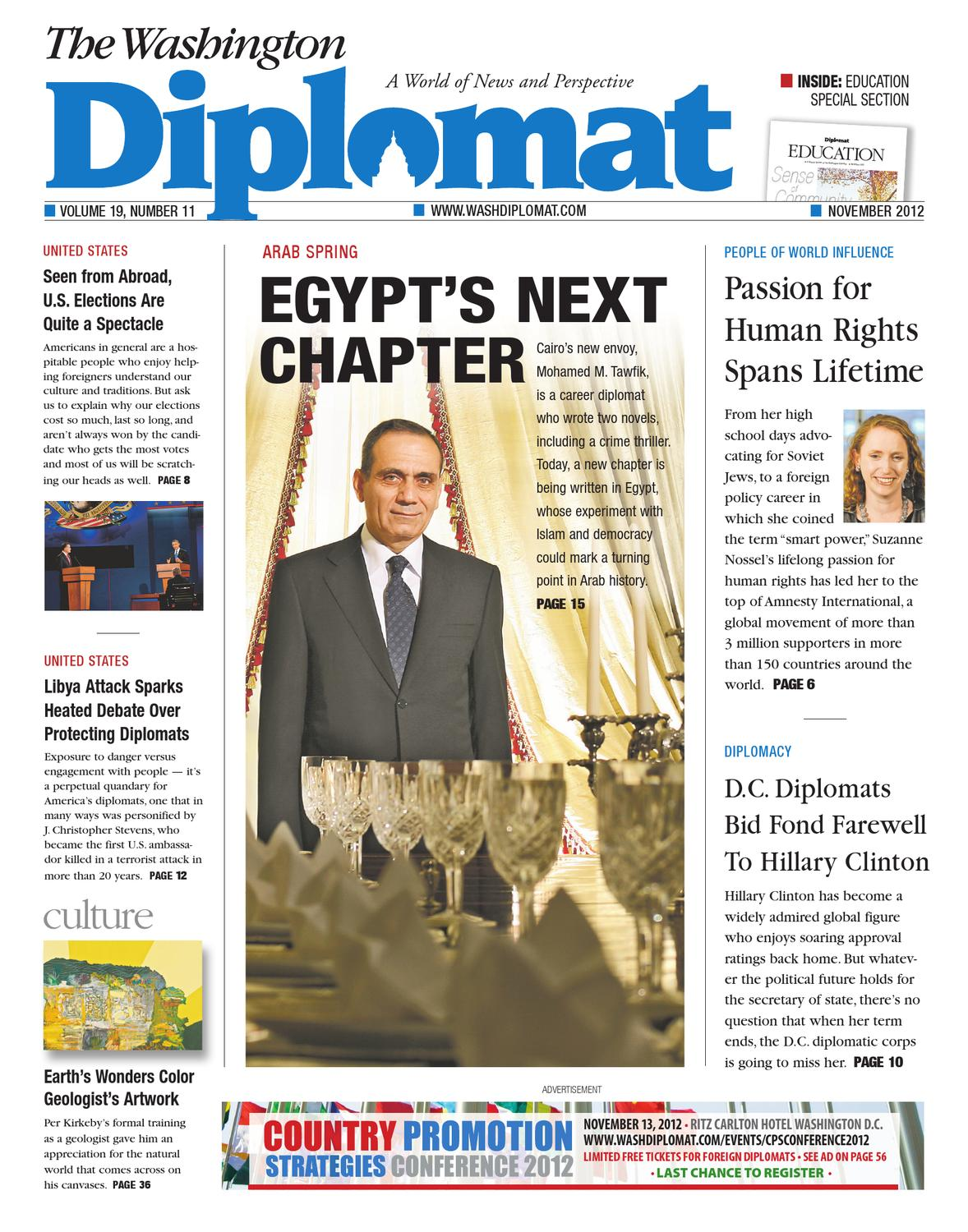 fba8324c3e17 November 2012 by The Washington Diplomat - issuu