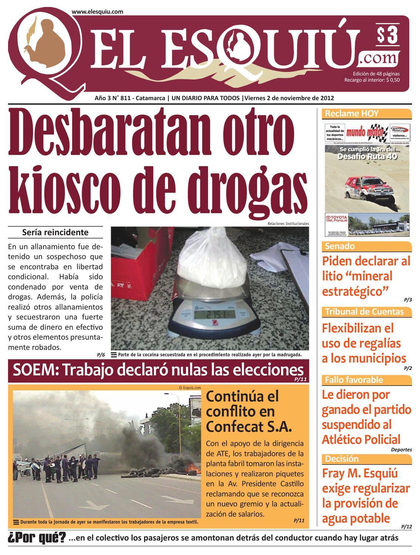 El Esquiu Com Viernes 02 De Noviembre De 2012 By Editorial El  # Muebles Yoma Antofagasta