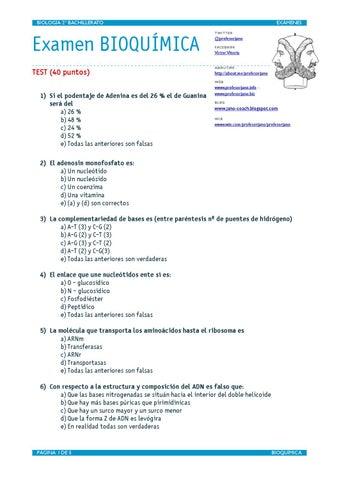 EXAMEN DE BIOQUÍMICA RESUELTO OCT 2012 by VÍCTOR M. VITORIA - issuu