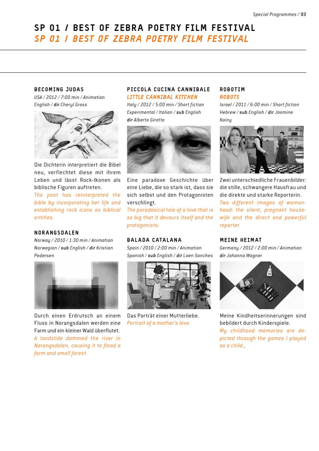 f3d9b0ee3eee Festival Catalogue Part 2 Special Programs by interfilm Berlin - issuu
