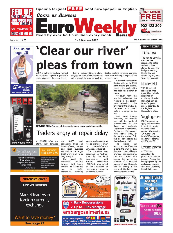 Costa de Almeria 1 - 7 November 2012 Issue 1426 by Euro ...