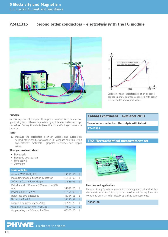 Sidilab Catlogo De Fsica Phywe By Iberdidac Issuu 99 Cobra Wiring Diagram