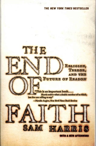 44271e653d3bf Further Praise for The End of Faith