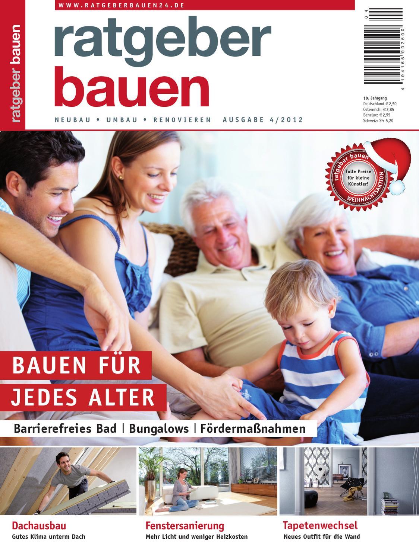 Ratgeber bauen 4 2012 by ratgeber bauen issuu for Ratgeber bauen