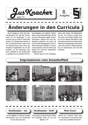 Jusknacker Ausgabe 8 By Tobias Neugebauer Issuu