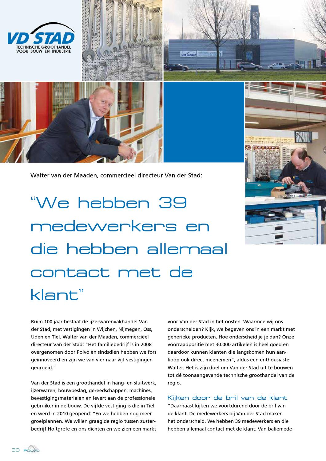 Van Der Stad Wijchen.Magazine Polvo By Connect Communications Bv Issuu