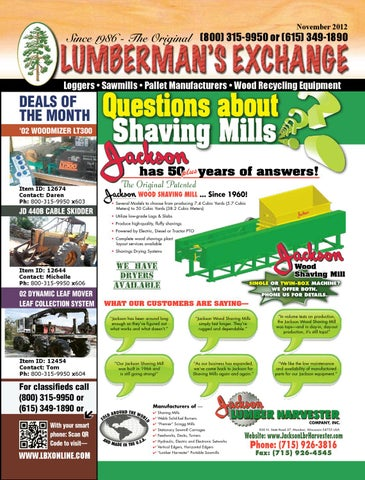 LBX Online Magazine by Lumbermens Magazine   Quality Used