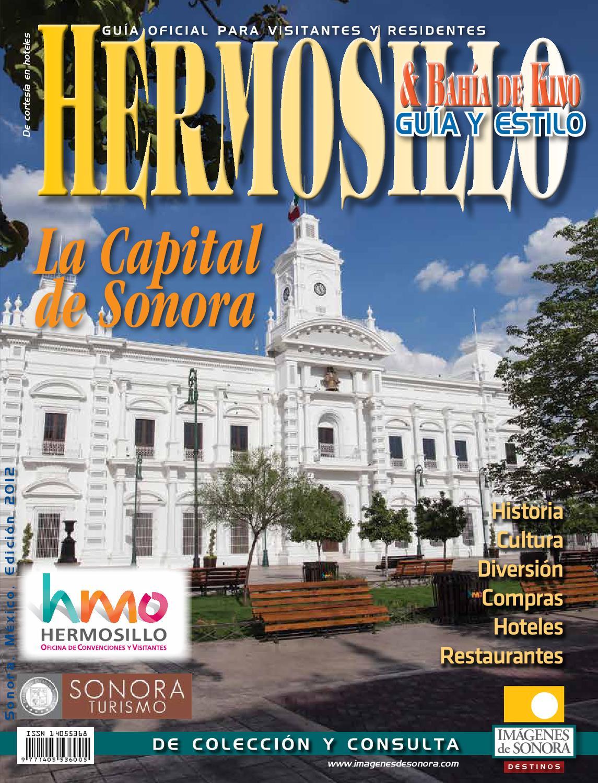 Hermosillogu a2012 by imagenes de sonora issuu for Universidades en hermosillo