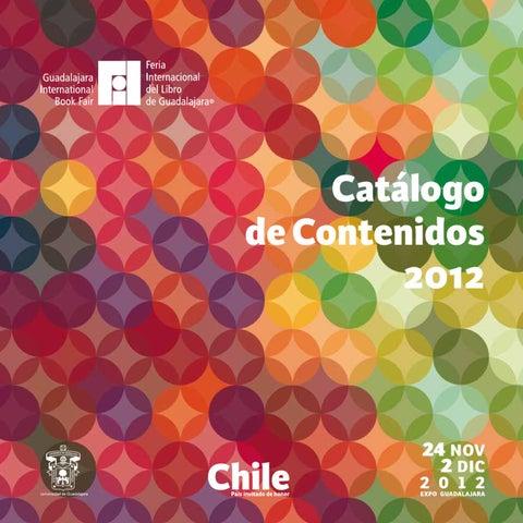 Catálogo de contenidos 2012 by Feria Internacional del Libro de ... e82acb16cdc