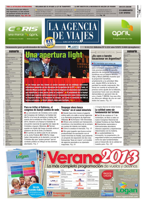 La Agencia de Viajes Argentina N° 1.231 by La Agencia de Viajes - issuu