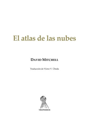 timeless design a42ba 65ddf El Atlas de las Nubes by Patty Marcial - issuu