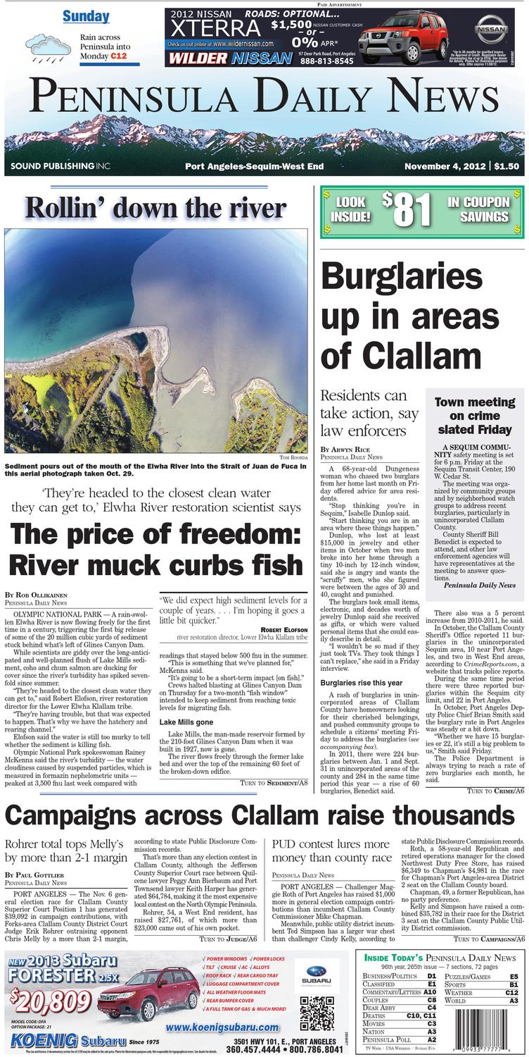 df794e7d0e78 PDN20121104C by Peninsula Daily News   Sequim Gazette - issuu