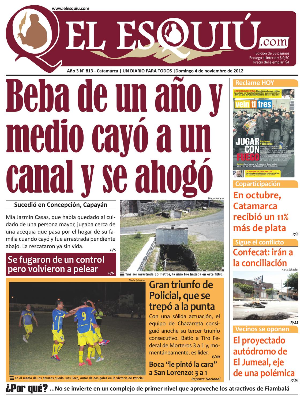 El Esquiu Com Domingo 4 De Noviembre 2012 By Editorial El Esqui  # Muebles Doblecinco