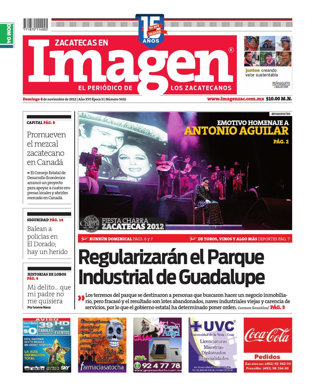 04-11-2012 by Grupo Editorial Zacatecas - issuu