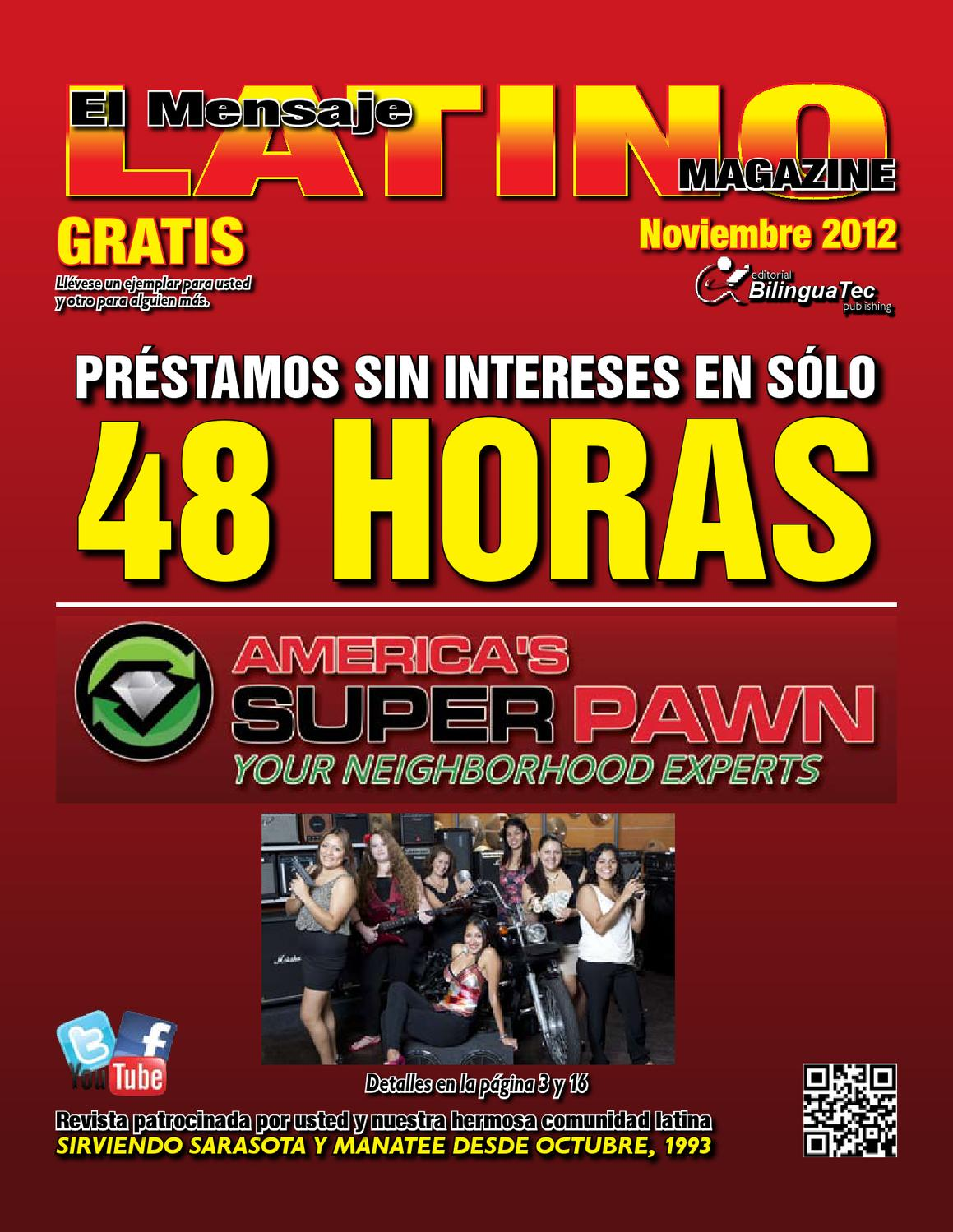 November 2012 by El Mensaje Latino - issuu