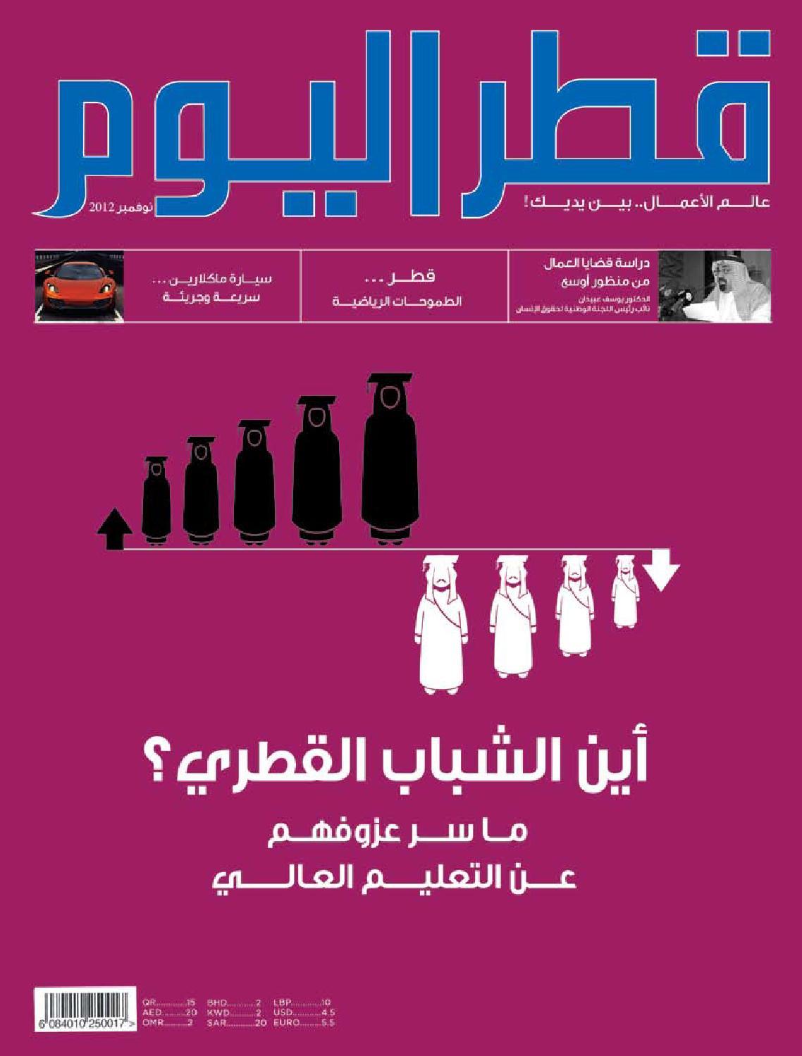 978281d6d6d03 Qatar Alyom November 2012 by Oryx Group of Magazines - issuu