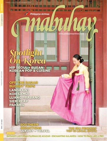 Mabuhay Magazine, November 2012 by Eastgate Publishing